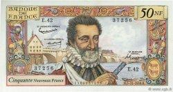 50 Nouveaux Francs HENRI IV FRANCE  1959 F.58.04 SUP à SPL