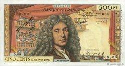 500 Nouveaux Francs MOLIÈRE FRANCE  1959 F.60.00 TTB