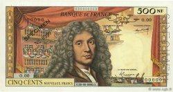 500 Nouveaux Francs MOLIÈRE FRANCE  1959 F.60.00 SUP