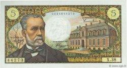 5 Francs PASTEUR FRANCE  1966 F.61.04 pr.SPL