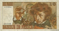 10 Francs BERLIOZ sans signatures FRANCE  1974 F.63bis.02 TB