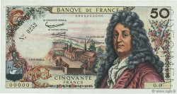 50 Francs RACINE FRANCE  1962 F.64.00s1 SUP+