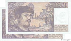 20 Francs DEBUSSY FRANCE  1988 F.66.09 SPL