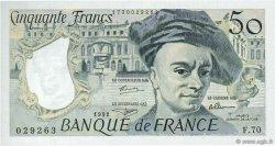 50 Francs QUENTIN DE LA TOUR FRANCE  1992 F.67.18 NEUF