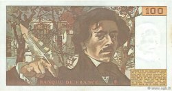 100 Francs DELACROIX FRANCE  1978 F.68.03 pr.SUP