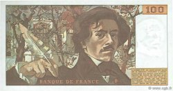 100 Francs DELACROIX FRANCE  1978 F.69.01b pr.NEUF