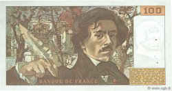 100 Francs DELACROIX FRANCE  1978 F.68.04 pr.SUP