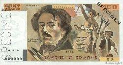 100 Francs DELACROIX modifié FRANCE  1978 F.69.00 pr.SPL