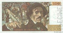 100 Francs DELACROIX FRANCE  1978 F.68.00s1 pr.SPL