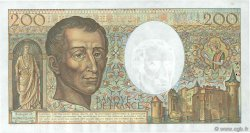 200 Francs MONTESQUIEU FRANCE  1986 F.70.06 TTB
