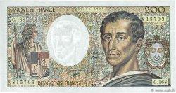 200 Francs MONTESQUIEU Modifié FRANCE  1994 F.70/2.02 SPL