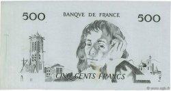 500 Francs PASCAL FRANCE  1968 F.71.00 SUP