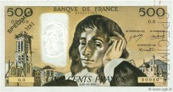 500 Francs PASCAL FRANCE  1968 F.71.00 pr.SUP