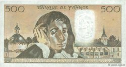 500 Francs PASCAL FRANCE  1982 F.71.26 TTB+