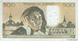 500 Francs PASCAL FRANCE  1982 F.71.26 SUP+