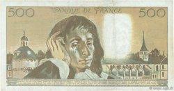 500 Francs PASCAL FRANCE  1993 F.71.52a TB+