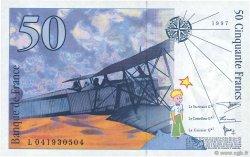 50 Francs SAINT-EXUPÉRY sans STRAP FRANCE  1997 F.72qua.04 SPL