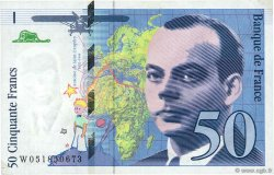50 Francs SAINT-EXUPÉRY modifié FRANCE  1999 F.73.05 pr.SUP