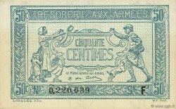 50 Centimes TRÉSORERIE AUX ARMÉES FRANCE  1917 VF.01.06 pr.NEUF