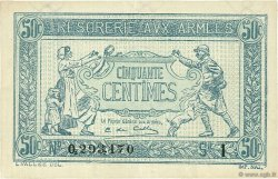 50 Centimes FRANCE  1917 VF.01.09 SUP+
