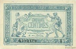 50 Centimes TRÉSORERIE AUX ARMÉES FRANCE  1917 VF.01.09 SUP+