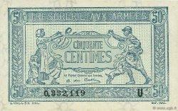 50 Centimes FRANCE  1919 VF.02.04 pr.SPL