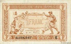 1 Franc TRÉSORERIE AUX ARMÉES FRANCE  1917 VF.03.05 SPL
