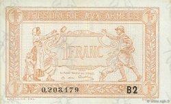 1 Franc TRÉSORERIE AUX ARMÉES FRANCE  1917 VF.04.15 NEUF
