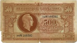 500 Francs MARIANNE FRANCE  1945 VF.11.03 B