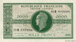 1000 Francs MARIANNE FRANCE  1945 VF.12.02 SUP+