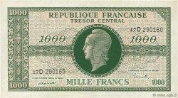 1000 Francs MARIANNE FRANCE  1945 VF.13.01 pr.NEUF