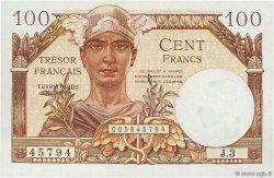 100 Francs TRÉSOR FRANÇAIS FRANCE  1947 VF.32.01 NEUF
