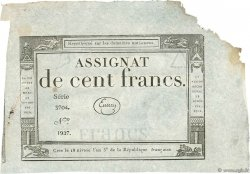 100 Francs FRANCE  1795 Ass.48b3 SUP