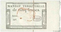 5 Francs Monval FRANCE  1796 Ass.63c NEUF
