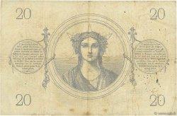 20 Francs type 1871 FRANCE  1872 F.A46.03 TB+