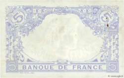 5 Francs BLEU FRANCE  1912 F.02.08 TTB à SUP
