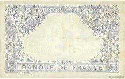5 Francs BLEU FRANCE  1917 F.02.47 pr.SUP