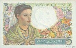 5 Francs BERGER FRANCE  1943 F.05.03 NEUF