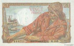 20 Francs PÊCHEUR FRANCE  1948 F.13.13 SPL+