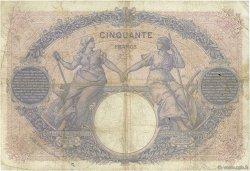 50 Francs BLEU ET ROSE FRANCE  1905 F.14.17 TB