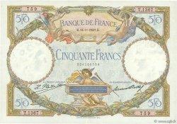 50 Francs LUC OLIVIER MERSON FRANCE  1927 F.15.01 TTB à SUP