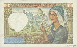 50 Francs JACQUES CŒUR FRANCE  1940 F.19.04 TTB+