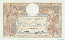 100 Francs LUC OLIVIER MERSON type modifié FRANCE  1939 F.25.45 SUP à SPL