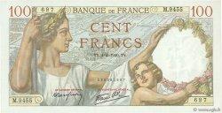 100 Francs SULLY FRANCE  1940 F.26.26 NEUF