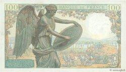 100 Francs DESCARTES FRANCE  1943 F.27.03 TTB