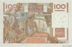 100 Francs JEUNE PAYSAN filigrane inversé FRANCE  1952 F.28bis.02 pr.SUP