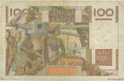 100 Francs JEUNE PAYSAN filigrane inversé FRANCE  1954 F.28bis.06 pr.TB