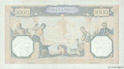1000 Francs CÉRÈS ET MERCURE type modifié FRANCE  1938 F.38.32 pr.SPL