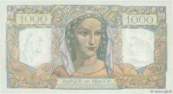 1000 Francs MINERVE ET HERCULE FRANCE  1945 F.41.02 SUP+