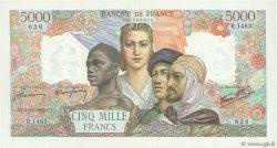 5000 Francs EMPIRE FRANÇAIS FRANCE  1945 F.47.46 SUP+